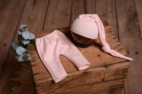 Conjunto Nueva York rosa bebé