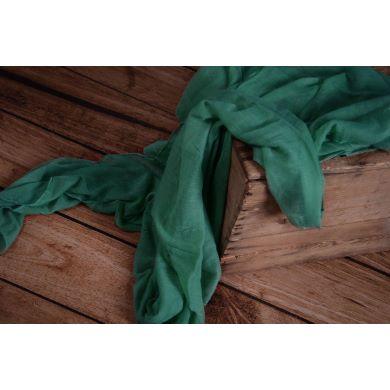 Emerald muslin wrap