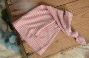 Bonnet de nuit rose foncé