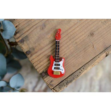 Mini guitare rouge