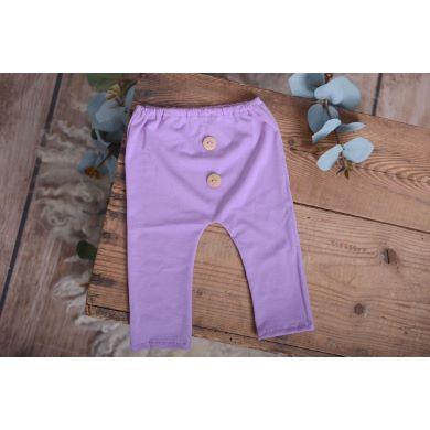 Pantalón de punto lila