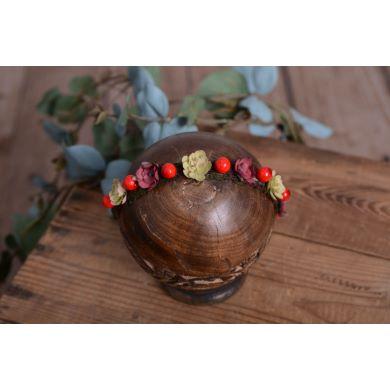 Coiffure florale de Noël - Modèle 8