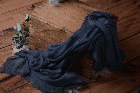 Blue cotton wrap