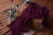 Wrap aus Baumwolle in Bordeaux