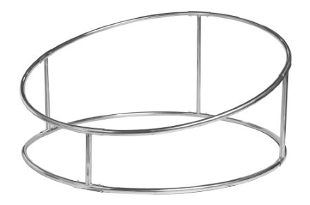 Mini structure fixe circulaire pour beanbag