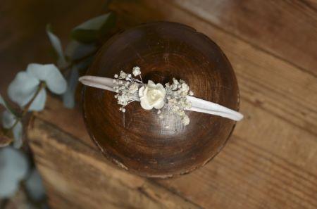 Copricapo floreale natalizio - Modello 1