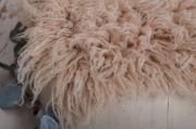 Nude large flokati