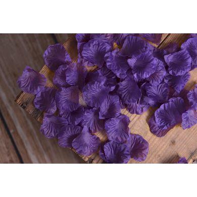 Blumenblätter in Violett