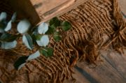 Tissu rustique en jute