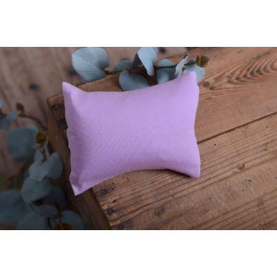 Lilac smooth minipillow