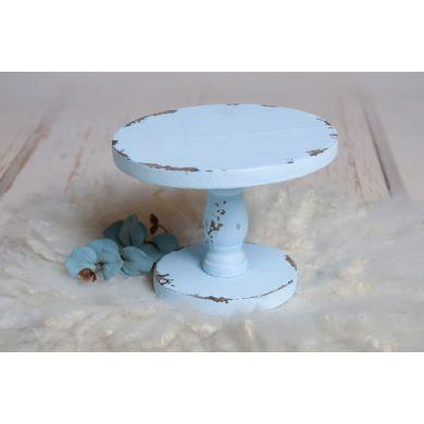 Appui pour gâteaux bleu