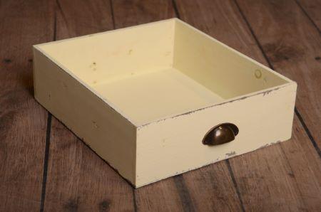 Tara cassetto vintage beige chiaro