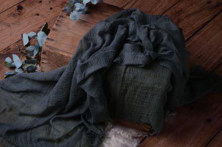 Wrap di cotone blu jeans