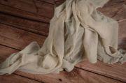 Wrap mousseline beige