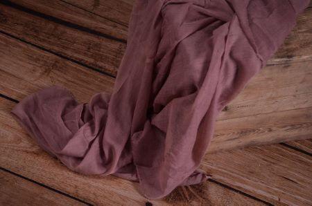 Violet muslin wrap