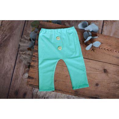Aquamarine stitch trousers