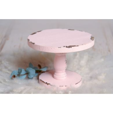 Soporte para tarta rosa