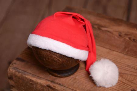 Lange Weihnachtsmannmütze