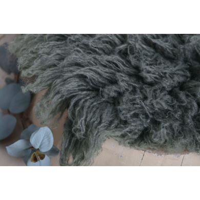 Flokati petit gris foncé