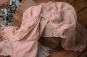Wrap en coton rose quartz