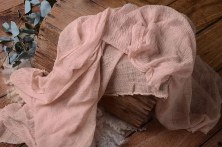 Quartz pink cotton wrap