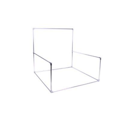 Structure beanbag carrée fixe