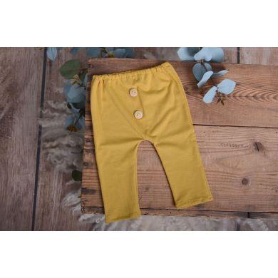Mustard stitch trousers