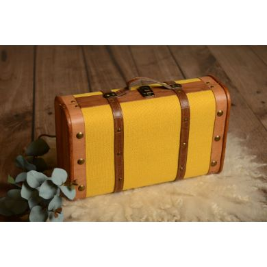 Valise moutarde petite