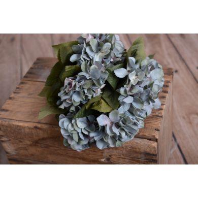 Hortensien Bouquet in Blaugrün
