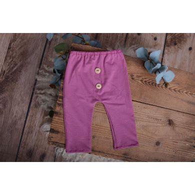 Pantalón de punto buganvilla