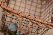 Panier en fils de fer