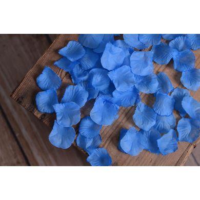 Blumenblätter in Hellblau