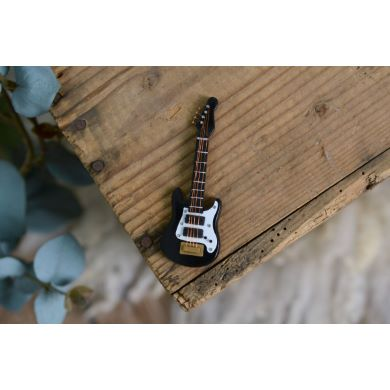 Mini guitare noir