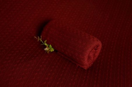 Wine red Prague fabric