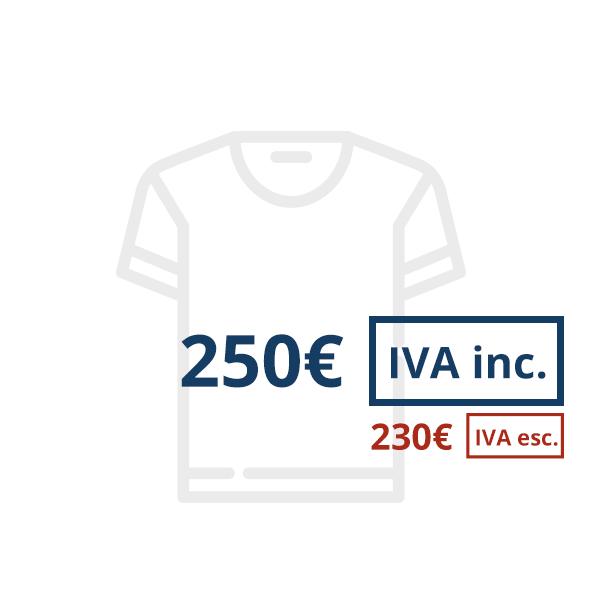 Prezzi con IVA esc.e inc.