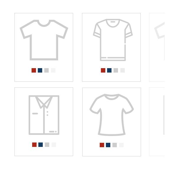 Variante colore nel catalogo prodotti