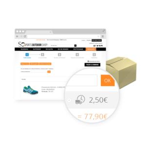 Estimación de los gastos de envío
