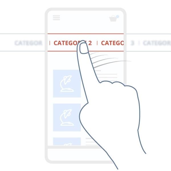 Filo di navigazione mobile
