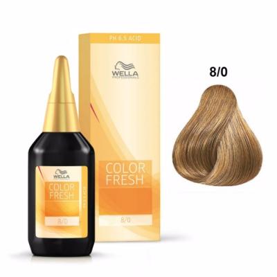 Color Fresh Wella 8/0 Blond Clair 75 ML