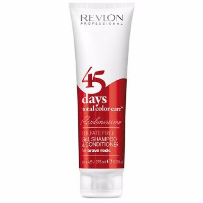 Shampoing Revlon 45 Days Brave Reds