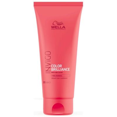 Conditioner Color Brilliance Invigo Cheveux Fins à normaux Wella 200 ML