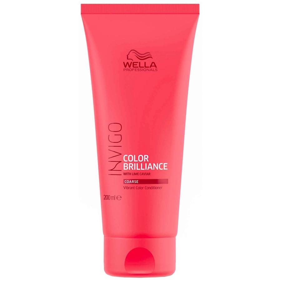 Conditioner Color Brilliance Invigo Cheveux Épais Wella 200 ML