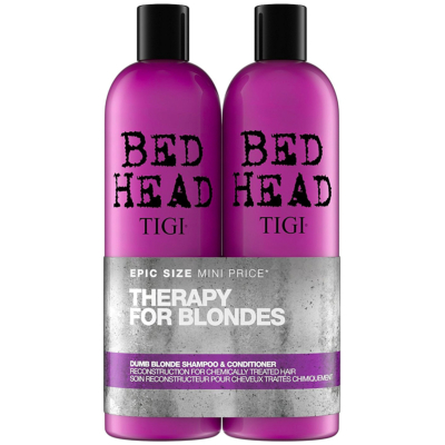 Dumb Blonde Conditioner + Shampoing Tigi Bed Head 750 ML
