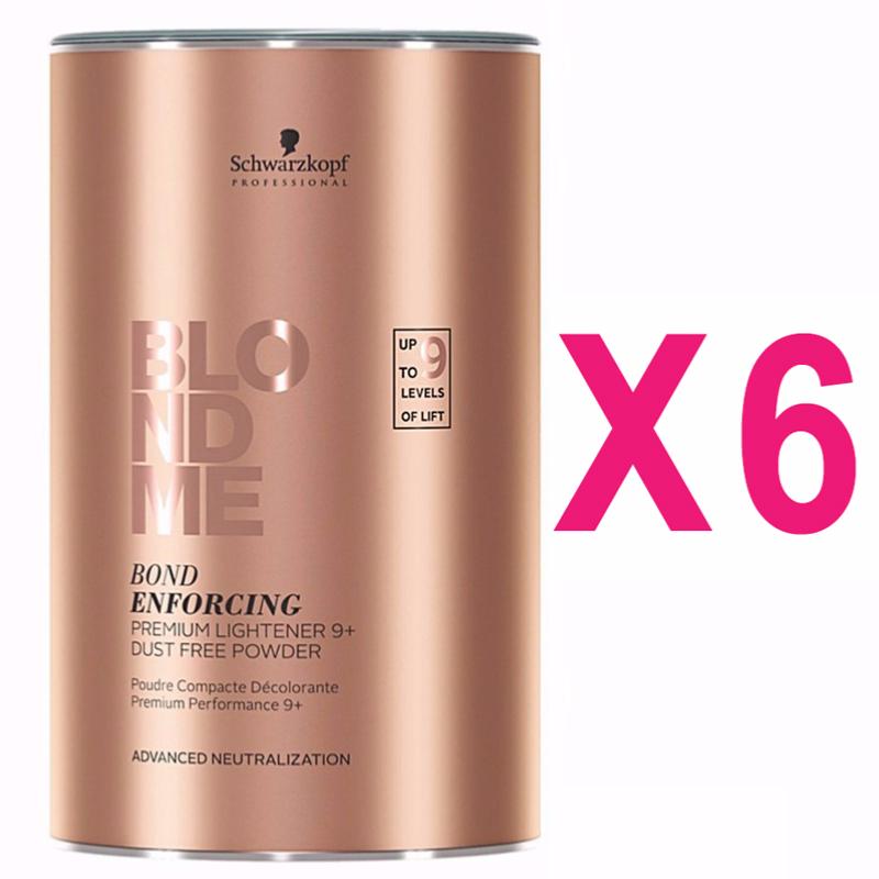 Poudre Décolorante Blond Me Premium 9+ 450g (Pack 6)