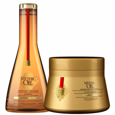 Pack Mythic Oil Cheveux Épais Duo
