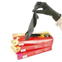 Gants Latex Noir Ré-utilisables, Boîte de 20