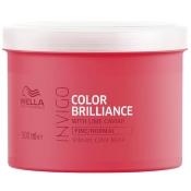 Masque Color Brilliance Invigo Cheveux Fins Wella 500 ML