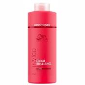 Conditioner Color Brilliance Invigo Cheveux Épais Wella 1L