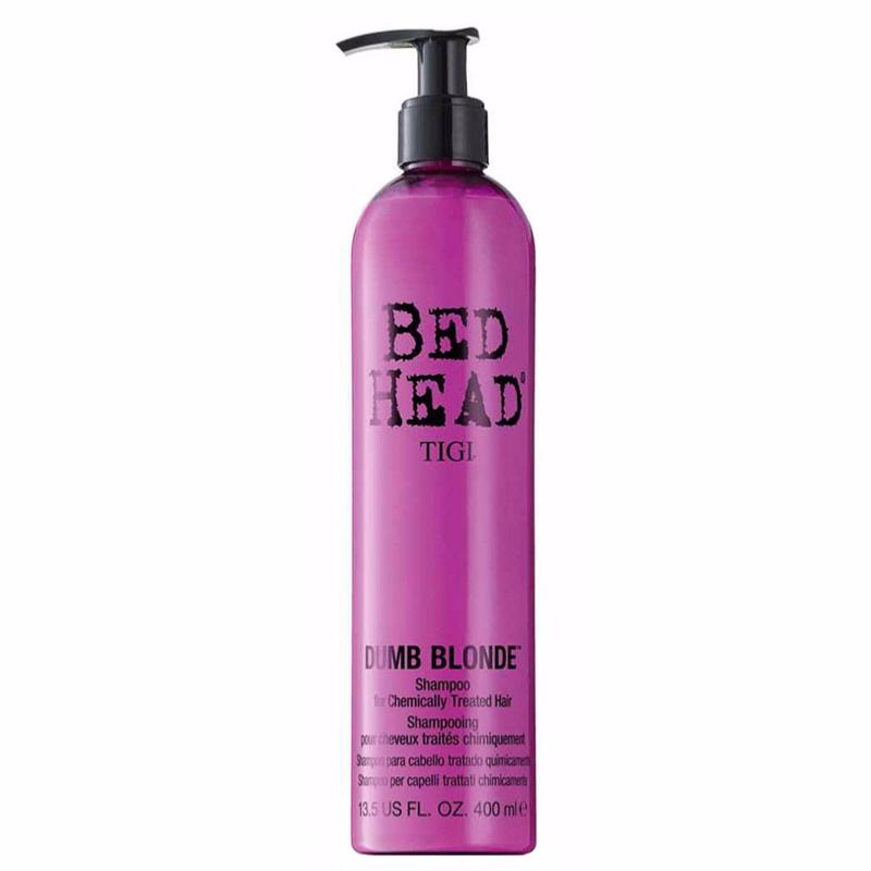 Shampoing Dumb Blonde Tigi Bed Head 400 ML