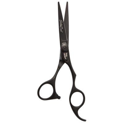 Ciseaux de coupe Silkcut 5.75 Matt Black Edition - Olivia Garden